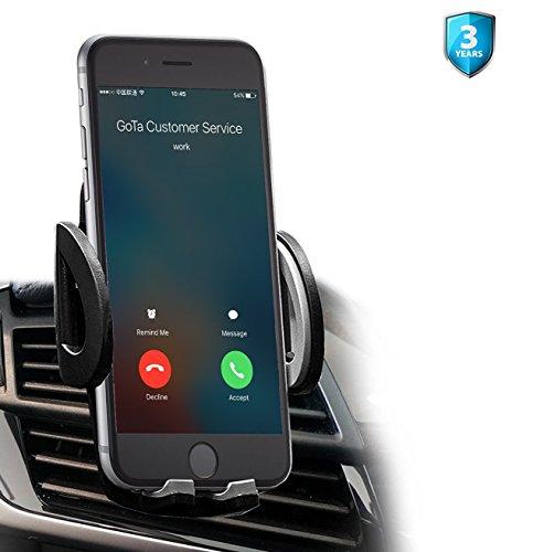 [New Release] Amotus Car Phone Mount Universal 360°-Drehung Kfz Halterungen Handyhalterung Autohalterung für iPhone 7 6s 6 plus SE 5 5s 5c 4 4s Samsung Galaxy S7 S6 Edge S5 S4 S3 Smart phone GPS Gerät