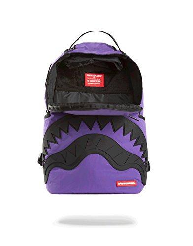 Rubber 3M Mochila Shark Sprayground Black Purple WBw0T