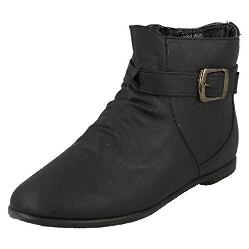 Spot on Damen Stiefel & Stiefeletten Mehrfarbig Black/Burgundy W1joK1