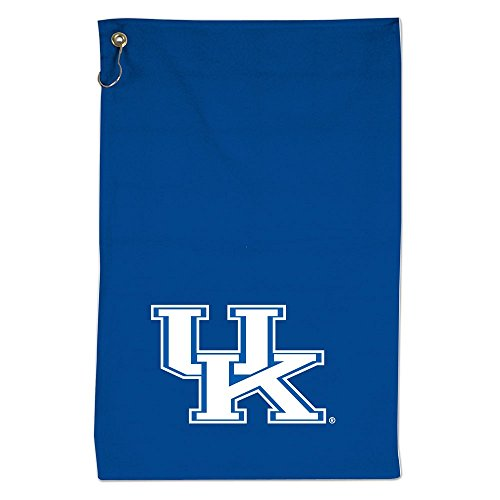 McArthur NCAA Kentucky Wildcats Screened Golf Towel w/Hook