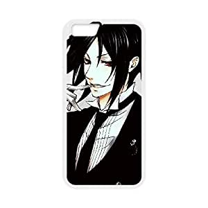 iPhone6 Plus 5.5 inch Cell Phone Case White Black Butler HG7638750