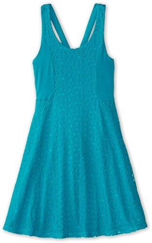 Ella Moss Girl Girl's Lily Lace Dress (Big Kids) Aqua Dress 12 (Big Kids)
