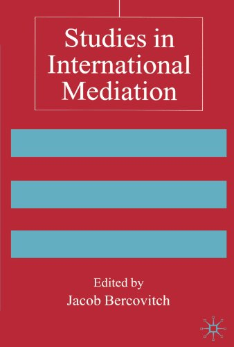 Studies in International Mediation (Advances in Foreign Policy Analysis)