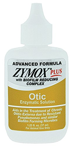 Pet King Brands Zymox Advanced Formula Otic Plus Without Hydrocortisone (Plus Formula Advanced)