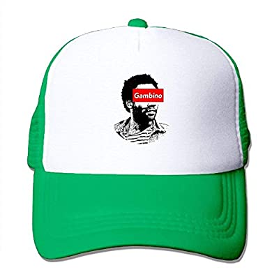 BHUIA Gambino Baseball Cap Adjustable Snapback Mesh Trucker Hat by BHUIA