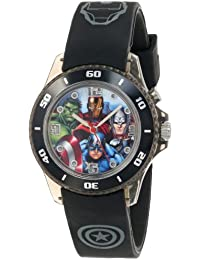 The Avengers Kids' AVG3508 Watch with Black Rubber Band