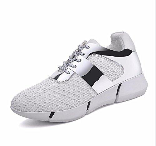 Marée Fond Nouveau Conseil Chaussures Secondaire KHSKX Blanc 39 Version Toile 3Cm Chaussures Du Du Élèves Coréenne Printemps Femme À Occasionnels Plat Des qwZw0Pa