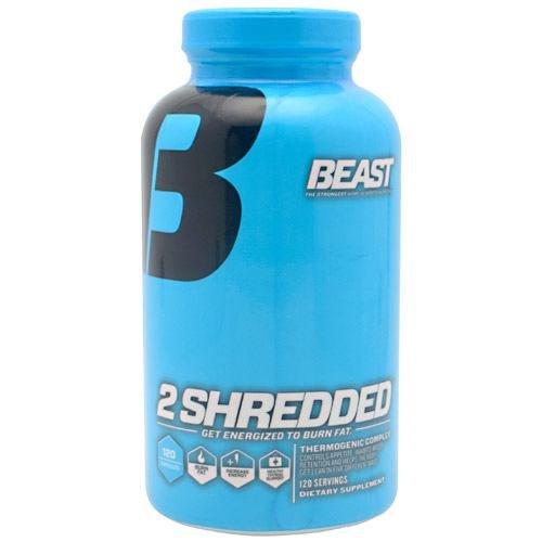 Beast Sports Nutrition 2 Shredded - 120 Capsules
