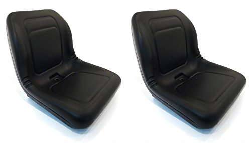 ((2) New Black HIGH BACK SEATS for ARCTIC CAT PROWLER Replaces 1506-925 ATV UTV by The ROP Shop)