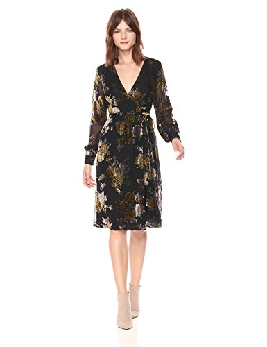- 41OxygaJiiL - ASTR the label Women's Sonya Floral Print Midi Dress