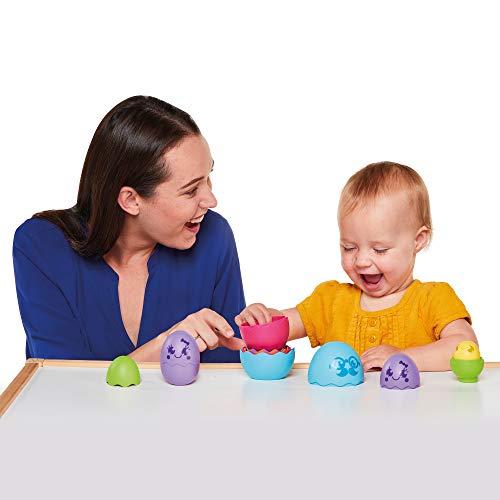 TOMY Toomies Hide & Squeak Eggstension Nesting Eggs Toy