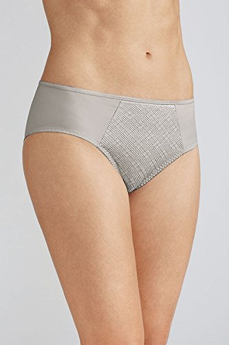 Amoena Womens Dianna Brief Panty, Silver, 12