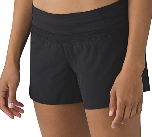 Lululemon Run Times Short Black - Shorts Lulu Speed
