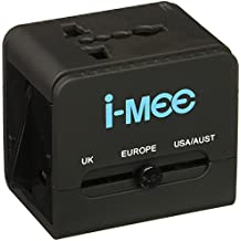 i-mee Universal Block Travel Charging Adaptor - Black