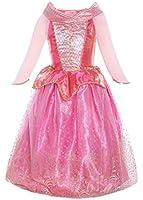 ReliBeauty Girls Princess Aurora Dress Costume