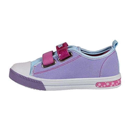 Cerdá Trolls - Turnschuhe Sneakers Sportliche mit Licht LED Für Kinder - Rosa Farbe und Türkis