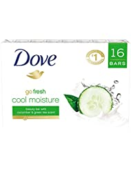 Dove Beauty Bar, Cucumber and Green Tea, 4 oz, 16 Bar