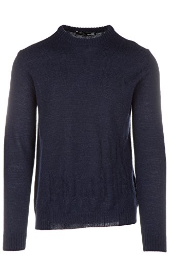 Love Moschino Men's Crew Neck Neckline Jumper Sweater Pullover Blu US Size M (US M) M S 6U4 00 X 1059 Y9 by Love Moschino (Image #2)