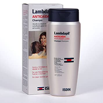 ISDIN LAMBDAPIL ANTI HAIR LOSS ANTICAIDA SHAMPOO 400ml Xmas Gift Skin Beauty Gift