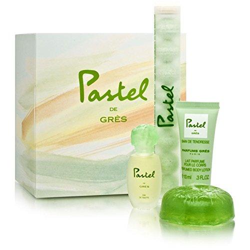 Pastel de Gres by Gres for Women 4 Piece (Perfumed Bath Pearls)