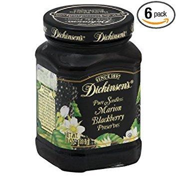 Dickinson's Preserves, Sdls Blckbry, 10-Ounce (Pack of 6)