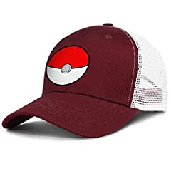 """We are aimed to offer you best dad hats.       Trucker hat Material:100% polyester foam front,100% nylon mesh back       Baseball Cap Circumstance: 55-59cm/21.7-23.3""""(Adjustable );Brim Width: 7cm/2.8"""", The height of cap: 9cm/3.5""""      ..."""