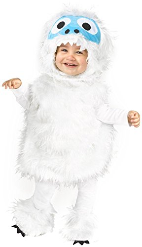 Fun World Snow Beastie Infant/Toddler Costume-18-24 Months