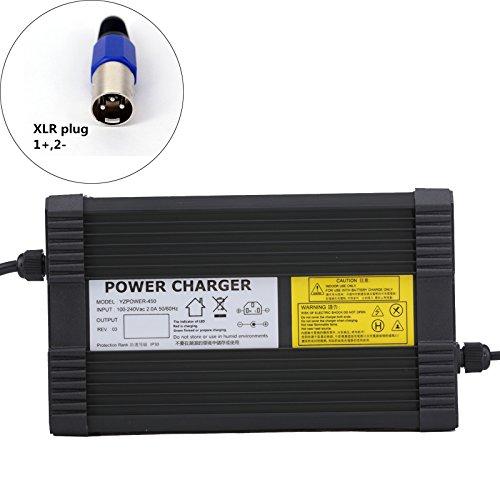 YZPOWER 84V 5A Lithium Li-ION Li-Poly Chargeur de Batterie pour 20 S�rie 72 V 5A �lectrique V�lo XLR Plug