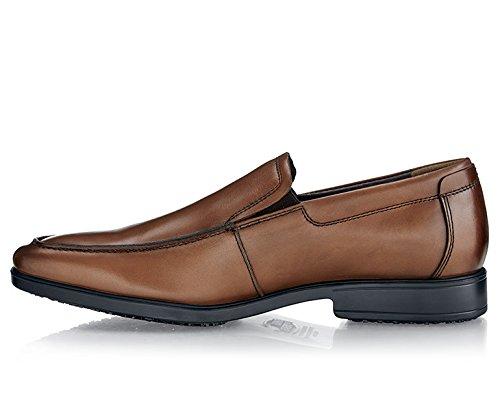 43 1217 für EU 43 Größe Crews Herren Lederschuh for VENICE 9 Braun Shoes xSqwfpE