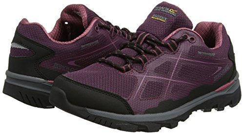 Regatta Lady Kota Low, Women's Low Rise Hiking Boots Red (Fig/Roseblus 823)