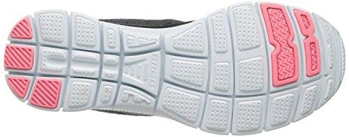 Skechers Flex Appeal Simply Sweet Gris Femmes Baskets Chaussures