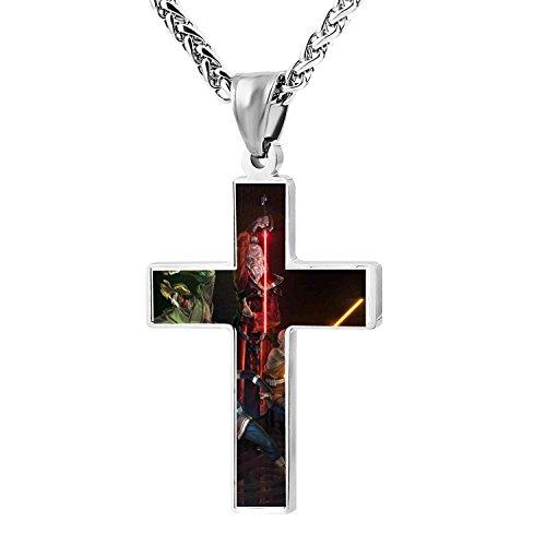 - Cool Patriotic Cross Avastar Religious Lord's Zinc Jewelry Pendant Necklace