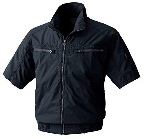 MK:V8306 体感-2度空調服半袖ブルゾン【服のみ 建設 建築 暑さ対策 作業服 作業着 暑さ対策】