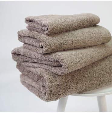 10XDIEZ Toalla algodón Pima 600 gr/m2 beig - Medidas Toallas ...