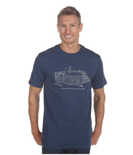 North Face Odd Couple Tee Shirt Blue S