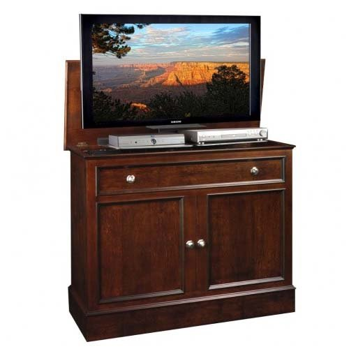 TV Lift Cabinet AT006078 Traveler TV Lift Cabinet (Rich Tobacco) by TVLIFTCABINET, Inc