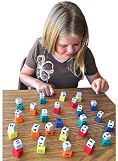 The Multi-Matrix Therapeutic Game Developmental Blocks with 50 Smart Cubes ()