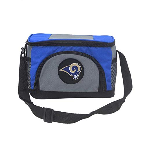 (Unisex NFL Embroidered Insulated Lunch Bag Cooler - Pick St. Louis Rams)
