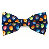Absolute Stores Boys Colored Easter Eggs Banded Bow Ties