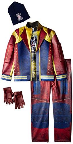 Disney Jay Deluxe Descendants 2 Costume, Multicolor, Medium (7-8)