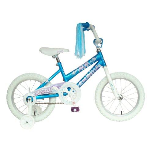 Mantis Maya Kid's Bike, 16 inch Wheels, 10.5 inch Frame, Girls' Bike, Blue