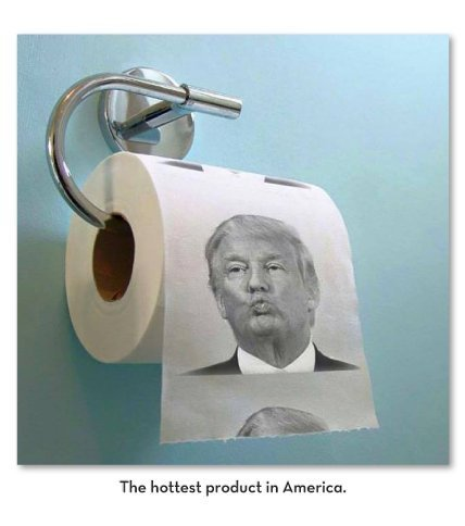 100 Rolls Wholesale Bulk Lot of Donald Trump Toilet Paper-USA SELLER by TheGag (Image #4)