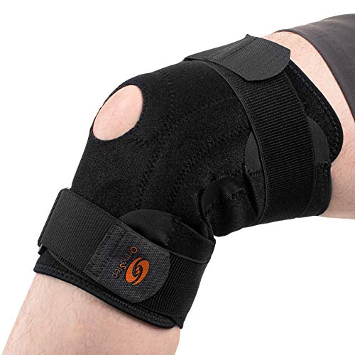 OrthoStep Black Knee Brace