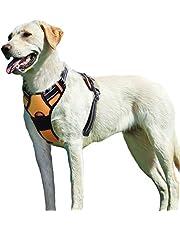 Eagloo Hundegeschirr für Große Hunde Anti Zug Geschirr No Pull Sicherheitsgeschirr Kleine Mittlere Hunde Brustgeschirr Dog Harness Weich Gepolstert Atmungsaktiv