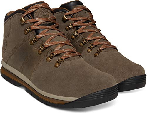 Timberland Mens GT Rally Waterproof Olive Suede Boot - 9 (Timberland Smart)