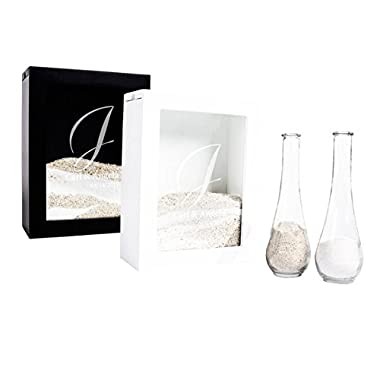 Unity Sand Ceremony Shadow Box Set, Wedding Table Decoration, Free Engraving