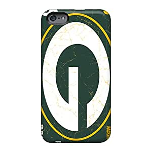 Protective Cell-phone Hard Cover For Apple Iphone 6 Plus With Custom Colorful Green Bay Packers Image WayneSnook