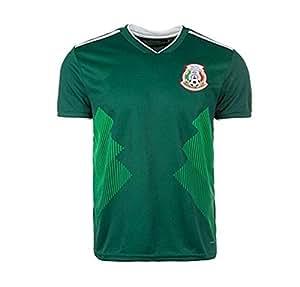 Lvbeis Copa Mundial 2018 Hombres Ropa Deportiva Fútbol México Camiseta Transpirable,Small