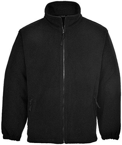 Portwest F205BKRXXXL 3X-Large Aran Fleece Jacket - Black by ()