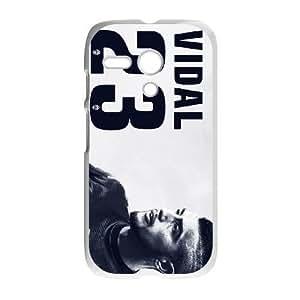 Motorola Moto G Phone Case Arturo Vidal F6432621